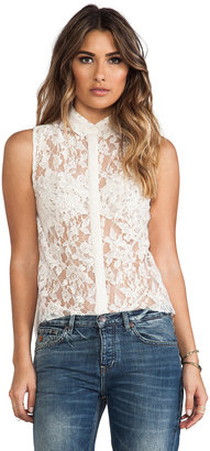 Joe's Jeans Abigail Lace Blouse