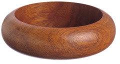K. Amato Shaped Wood Bangle