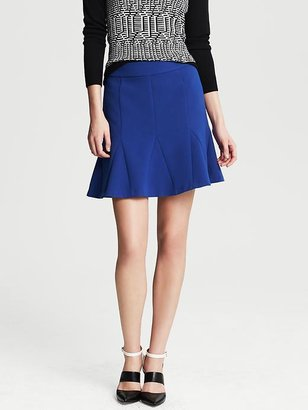 Banana Republic Fluted Skirt