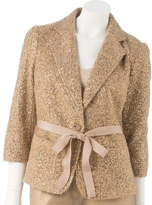 JLO by Jennifer Lopez sequin blazer