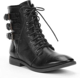 Heartsoul pedro combat ankle boots - women