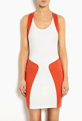 MSGM Body Con Dress With Hourglass Silhouette