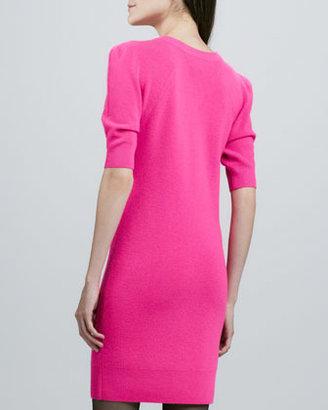 Torn By Ronny Kobo Amelie Neon Knit Dress