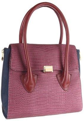 Pour La Victoire Morandi Medium Satchel (Oxblood) - Bags and Luggage