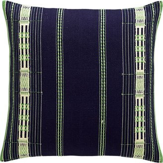 Crate & Barrel Atun Pillow with Feather-Down Insert.
