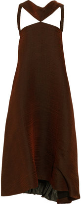 Jil Sander Open-back woven dress