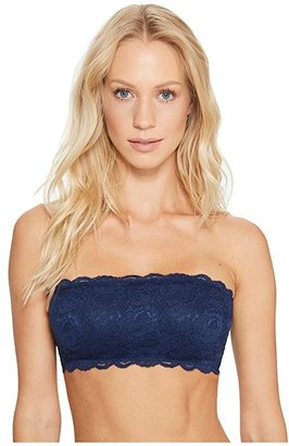 Cosabella Never Say Never Flirtie Bandeau Bra NEVER1102 (Navy Blue) Women's Bra