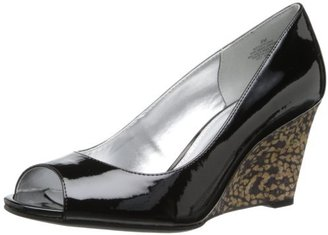 Bandolino Women's Tufflove Synthetic Wedge Pump $28.36 thestylecure.com