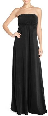 Women's Hard Tail Long Strapless Dress $115 thestylecure.com