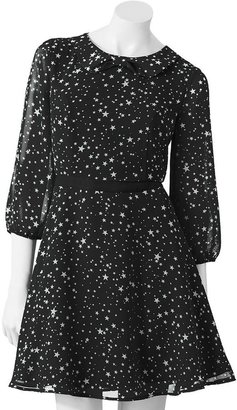 Lauren Conrad star chiffon dress - women's