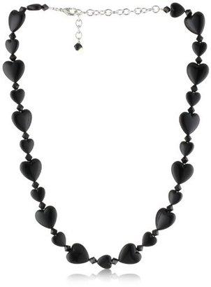 """Tarina Tarantino Iconic"""" Licorice Whip Heart Bead Necklace"""