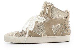 Ash Sonic Glitter Hightop Sneakers