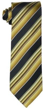 Geoffrey Beene Men's Luna Fab Striped Necktie