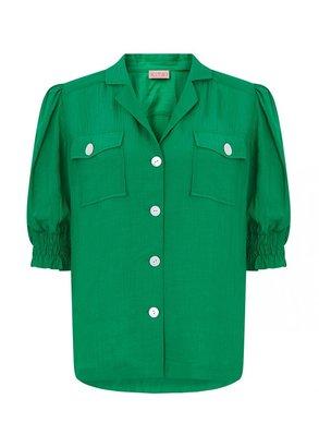 Kitri Kiki Green Top