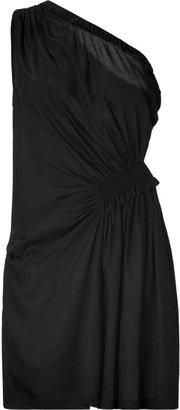 IRO Black Draped Dress with Zip