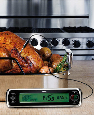 OXO Meat Thermometer, Stainless Steel Digital Leave In