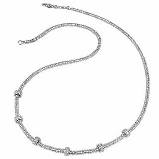 Torrini Rondelle Moving Mini - White Gold and Diamond Necklace