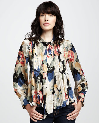 Elizabeth and James Celeste Printed Blouse