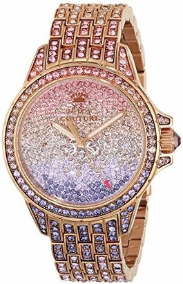 Juicy Couture Women's 1901167 Stella Analog Display Quartz Multi-Color Watch $495 thestylecure.com