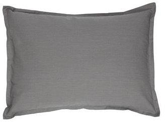Argington Organic Boudoir Pillow - Solid Grey