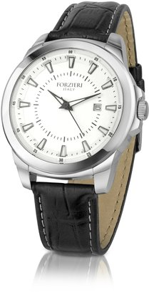 Forzieri Men's Stainless Steel Dress Date Watch