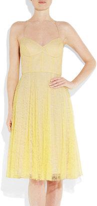 Erdem Mell lace and silk-organza dress