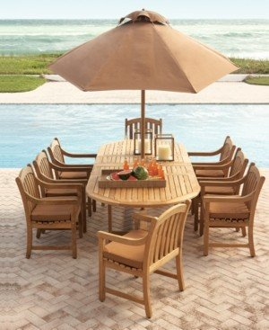 Bar Height Glass Table, Teak Outdoor Dining Table Shop The World S Largest Collection Of Fashion Shopstyle