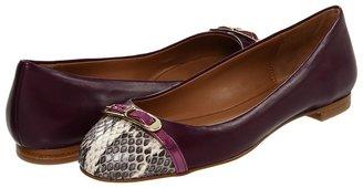 Elie Tahari Gwen (Plum) - Footwear