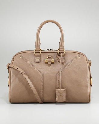 Yves Saint Laurent Muse Bowling Satchel Bag