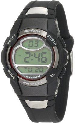 Armitron Sport Unisex 45/6975RED Chronograph Black Digital Watch