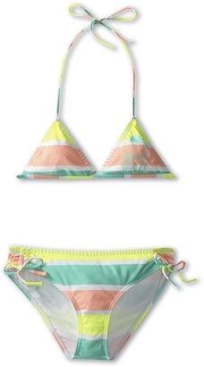 O'Neill Kids - Coastline Triangle Top Bikini (Big Kids) (Highlighter) - Apparel