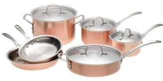 Calphalon 10-pc. Stainless Steel Tri-ply Copper Cookware Set