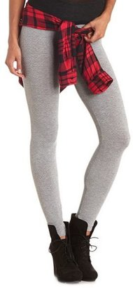 Charlotte Russe Waffle-Knit Textured Leggings
