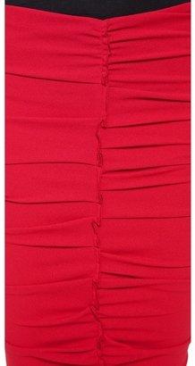 Nina Ricci Ruched Pencil Skirt