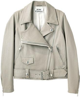 Acne Studios / merci leather jacket