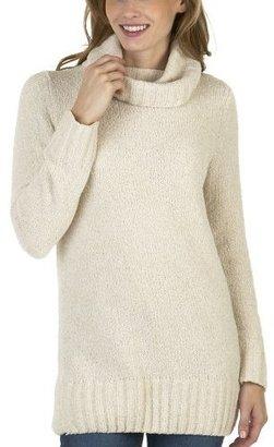 Merona Cowl Neck Chenille Sweater - Oatmeal