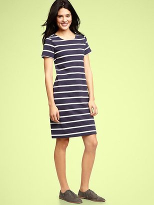 Gap Striped jersey dress