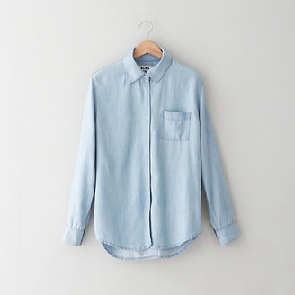 Acne wave light denim shirt
