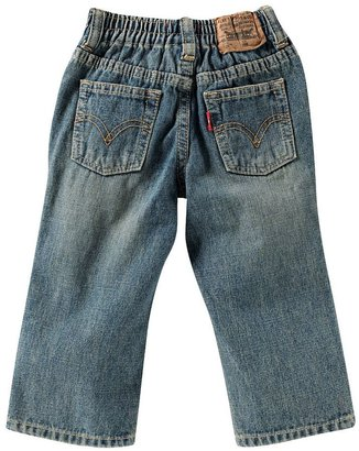 Levi's 526 Back-Elastic Loose Straight-Leg Jeans - Infant