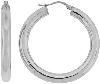 Columbia Stainless Steel Hoop Earrings