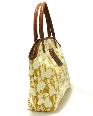 Orla Kiely Betty Bag Flower Girl Print - Straw