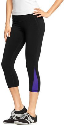"Old Navy Women's Active by Compression-Mesh Capris (20"")"