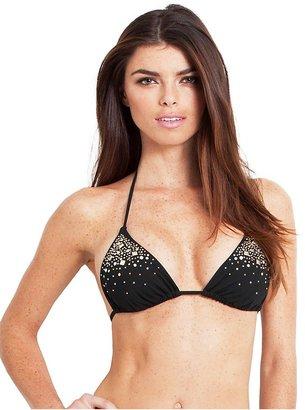 GUESS Set in Stones Triangle Bikini Bra Top