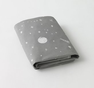 DwellStudio Galaxy Dove Fitted Crib Sheet