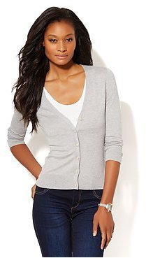 New York & Co. Essential V-Neck Cardigan