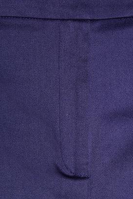 Cacharel Cropped cotton-blend straight-leg pants