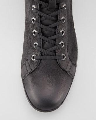 Prada Nubuck Leather Hiker Boot