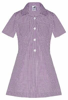02a71272e7 Unbranded The Perse Prep School Girls  A-Line Checked Summer Dress