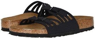 Birkenstock Granada Birkibuc (Black Birkibuc) Women's Shoes