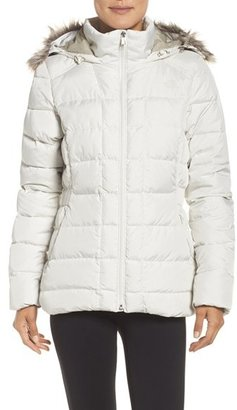 Women's The North Face 'Gotham' Faux Fur Trim Down Jacket $230 thestylecure.com